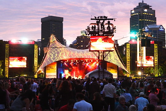 Sydney Festival 2009, First Night