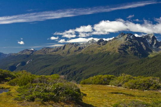View from Key Summit, Fiordland, New Zealand