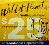 exit fee New Zealand