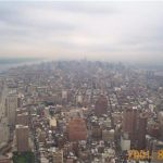 New York. View from Twin Towers. 2001