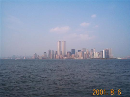 New York.Twin Towers. 2001