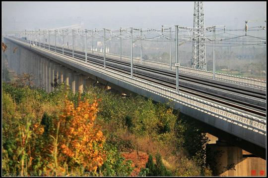 Weinan Weihe Grand Bridge, China