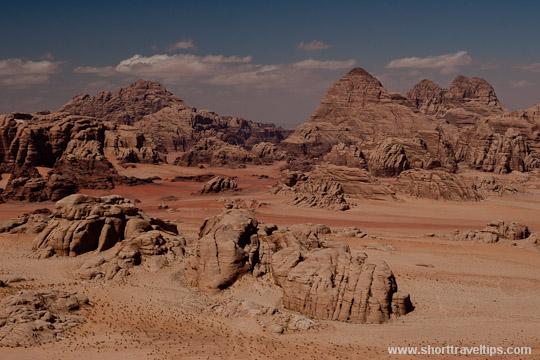 Wadi Rum Desert. Jordan