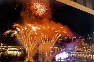 Sydney, Darling Harbour fireworks