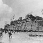 SS President Coolidge sinks