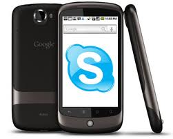 Skype on android phone, wifi