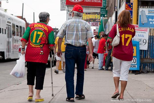 Portugese community in Toronto, Canada