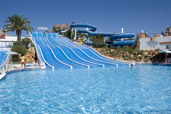 Slide & Splash in Lagoa, Portugal
