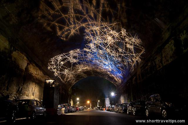 Rocklights, Argyle Cut, Rocks, VIVID Sydney