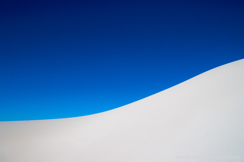 White dunes near Eucla on the border between South and Western Australia