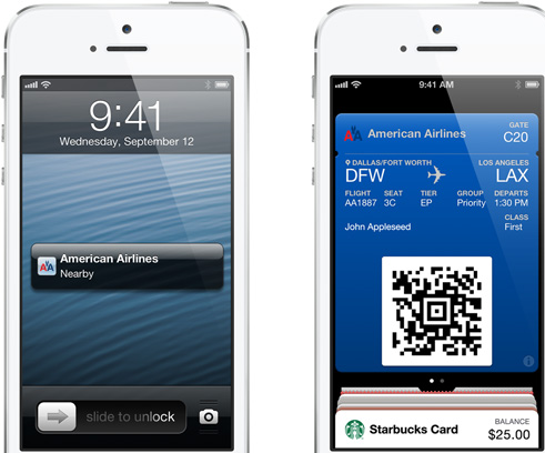 apple iphone 5, passbook,  ios 6