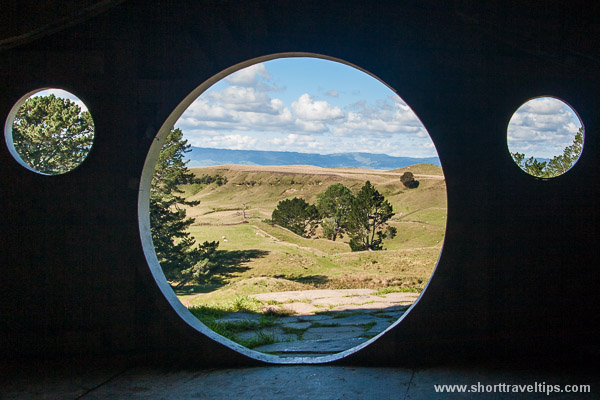 View from inside of Bag End