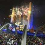 Fireworks in Toronto, Canada