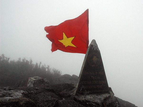 Fansipan peak, Vietnam