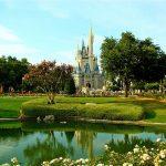 Disney castle in Florida