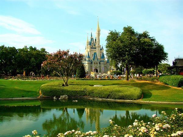 Disney castle in Florida