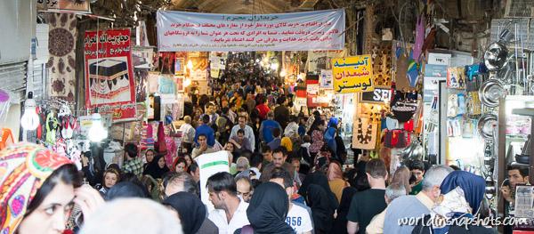 Tehran bazar