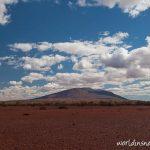 Approaching Mount Augustus