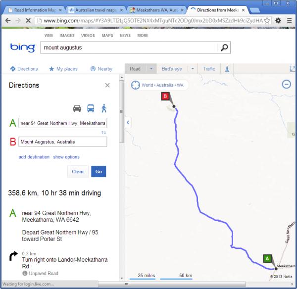 Meekatharra to Mount Augustus
