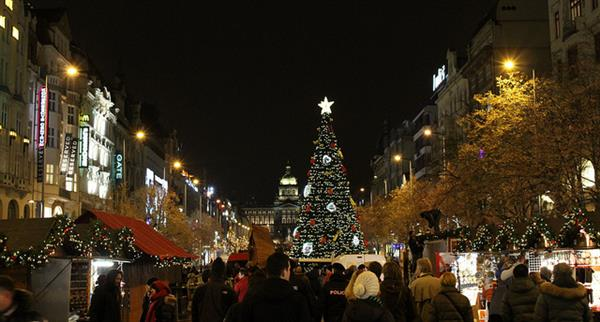 Christmas Markets in Wenceslas Square