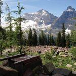 Loo at Boulder Pass Campsite