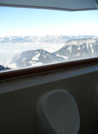 Toilet at Skiwelt ski resort