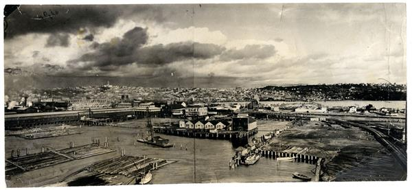 Seattle, Washington tide flats 1902