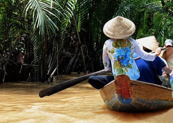Vietnam Ben tre Mekong River Delta