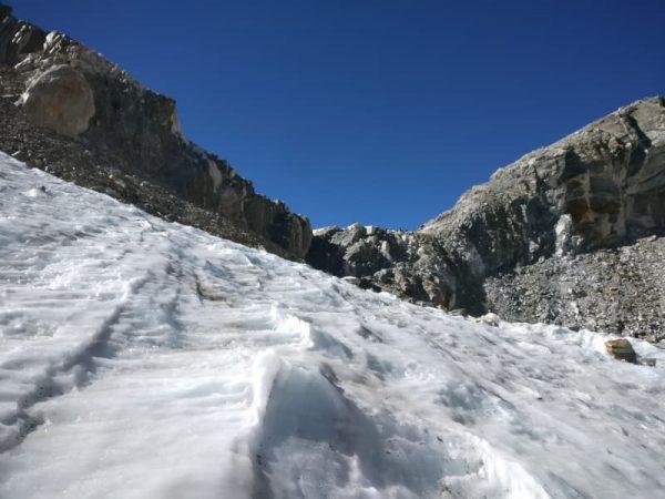 Cho La pass glacier, Nepal
