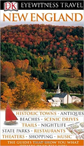New England (Eyewitness Travel Guides), 2010