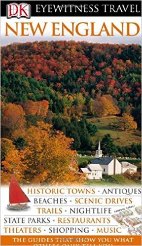 New England (Eyewitness Travel Guides), 2010