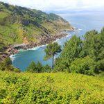 view fom Monte Igueldo, San Sebastian, Basque