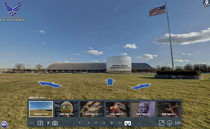 National Museum of the United States Air Force virtual tour